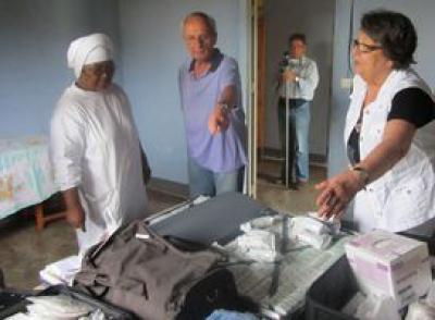 Arrivée des dons à Henintsoa